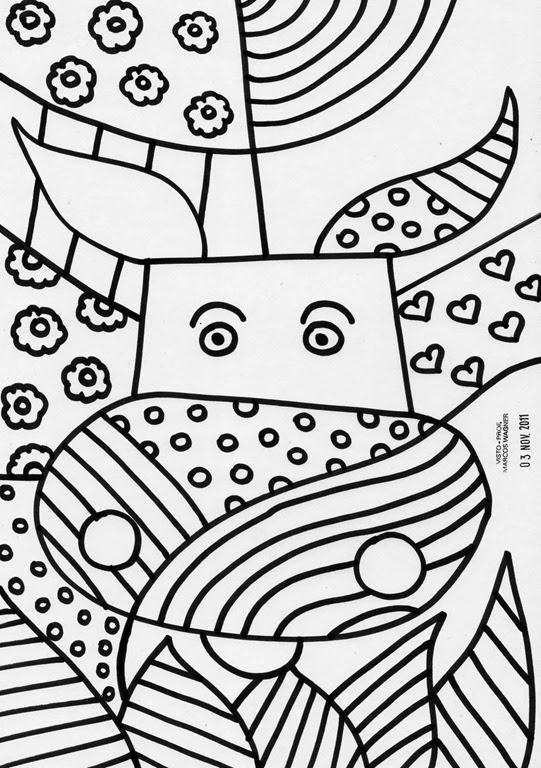 Desenhos para colorir e imprimir  DESENHOS DE ROMERO BRITO PARA COLORIR